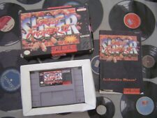 SNES Super Street Fighter II (with box & manual) NTSC US