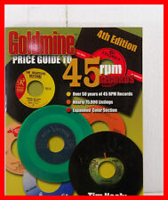GOLDMINE PRICE GUIDE TO 45 RPM RECORDS 4TH EDITION TIM NEELY