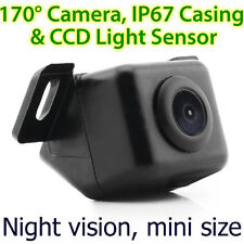 New CCD Car Parking Reverse Rear View Colour Backup Camera Night MKT Reversing