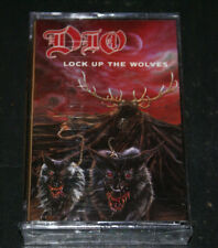 DIO Ronnie James Dio Lock Up the Wolves  NEW FACTORY SEALED CASSETTE TAPE 1990