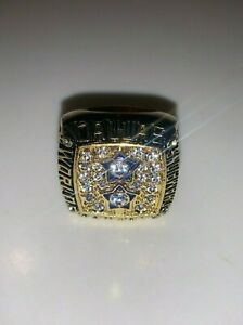 1977 Dallas Cowboys Championship Replica Staubach Super Bowl Ring Size 11