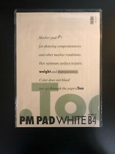Copic Markers PM Pad White B4, 50 Sheets