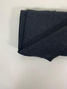 ENGLISH COATING gray wool winter weight, 1.9y 1.7m