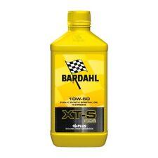 BARDAHL XT-S C60 10W60 Olio Motori Moto 4 Tempi 100% Sintetico 1 Litro