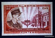 ALGERIE. N° 286 COLONEL  D ORNANO  TIMBRE NON DENTELÉ ND NEUF **   .SUPERBE .