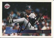 Brad Radke authentic signed autographed trading card COA