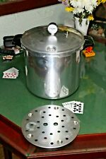Presto Aluminum Pressure Cooker & Canner Large 409A with insert