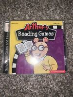 Video Game PC Arthurs Reading Games Ages 5-7 NEW SEALED Jewel