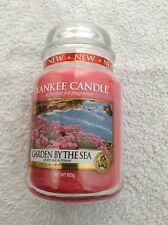 Yankee candle 'Garden by the Sea' large jar