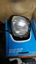 VINTAGE Keystone SUPER 8 MOVIE LIGHT SEALED BEAM TYPE LAMP 650 WATT Model 333