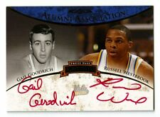 2008-09 Russell Westbrook Press Pass Goodrich Auto /50 /5 Red RC Signed Rookie