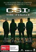 CSI - Crime Scene Investigation : THE FINALE : NEW DVD