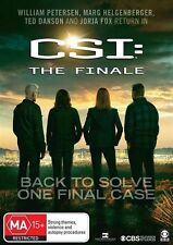 CSI - Crime Scene Investigation-The Finale (DVD, 2016)(Region 4) Aussie Release