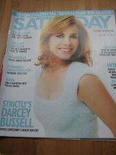 SATURDAY MAG 2015 DARCEY BUSSELL STRICTLY COME DANCING STELLAN SKARSGARD F WADE