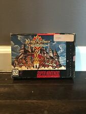 King Arthur & The Knights of Justice (Super Nintendo SNES) COMPLETE