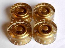 GOLD Volume Tone Speed Control Knob for Gibson Epiphone Guitar Metric Pot