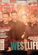 Westlife RTE GUIDE December 2009 Kian Egan Shane Filan Mark Feehily Nicky Byrne
