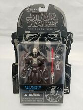 "2014 Star Wars The Black Series Darth Malgus #04 3.75"" Action Figure New Hasbro"