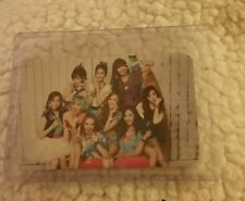 Snsd girks generation kiss me japan jp official photocard Card Kpop K-pop