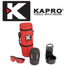 KAPRO Draper Vector Self Leveling 3-Way Beam Multi Line Laser Level Kit,64547