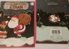 """""""Merry Christmas Ethan""""  Personalized Christmas Card"""