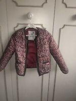 manteau fille ikks rose 6 ans