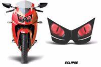 Headlight Eye Graphics Kit Decal Cover For Kawasaki Ninja 250R 2008-2012 ECLIPSE