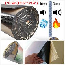 10mm 1*0.5m Car Door Hood Noise Sound Deadening Firewall Heat Soundproofing Foam