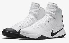 NIB! NIKE Basketball Shoes Hyperdunk 2016 TB   SIZE 12  WHITE/BLACK  844368 100