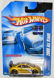 HOT WHEELS 2008 ALL STARS HONDA CIVIC SI YELLOW FACTORY SEALED