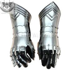 Medieval Gauntlets Armor Metal Gloves Pair Set For Costume Medieval Gift