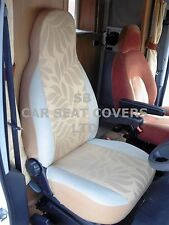 TO FIT A TALBOT EXPRESS MOTORHOME, SEAT COVERS, MH-157 GOLD LEAF