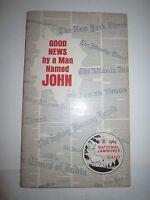 "1969 IDAHO NATIONAL JAMBOREE ""GOOD NEWS BYA MAN NAMED JOHN"" BOOKLET -  TUB RH-3"