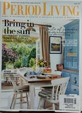 Period Living UK June 2017 Bring In The Sun Decorating Gardens FREE SHIPPING sb