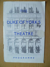 DUKE OF YORK'S THEATRE PROGRAMME 1953- THE MOON IS BLUE by F Hugh Herbert