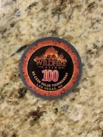 "Wildfire Las Vegas ""Slots Only"" Casino NCV No Cash Value $100 Tournament Chip"