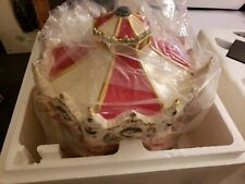 """New in Box Department 56 Snow Village """"The Carnival Carousel"""" 56.54933"""