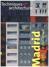 Techniques et Architecture 478 - Madrid, un defi + PARIS POSTER GUIDE