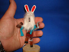 Navajo Indian Hand Made BEAR Kachina Doll Signed by Navajo Elsie Willie
