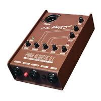 LR Baggs Para DI Acoustic Guitar Direct Box EQ Preamp