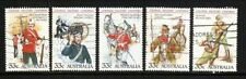 Military, War Used Australian Stamps