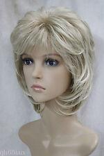 Women wig Short Curly Daily Natural Hair Black Brown Blonde Ladies  Cosplay wigs