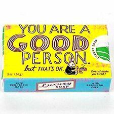 You are a Good Person BlueQ  Novelty Soap Fun Quirky Christmas Filler Cute Gift