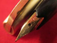 Vintage PLATINUM P66-100 Fountain Pen 14k gold F nib C.70´S Japan