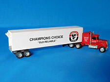 "TOY TRUCK ERTL SEMI TRACTOR TRAILER ""OLD RELIABLE"" 1:64 SCALE FORD LTL 9000"