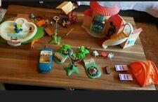 Playmobil ferienhaus, pool, Auto