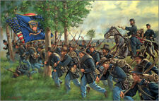Mark Maritato Civil War THREE DAYS AT GETTYSBURG SET of 3 Signed Art Prints