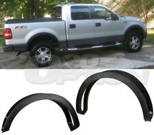 OE STYLE SMOOTH BLACK PP FENDER FLARES WHEEL COVER FOR 04-08 FORD F150 STYLESIDE