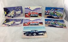 57 Heaven Retro Vintage Cars, Novelty Gift Cards Lot of 7