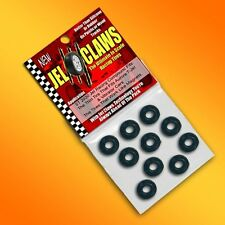 1/64 HO Scale Aurora Slot Car Tires Jelclaw 10pk Fits T-Jet Vibrator Cars Wheels